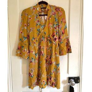 Mustard Yellow Band of Gypsies Dress